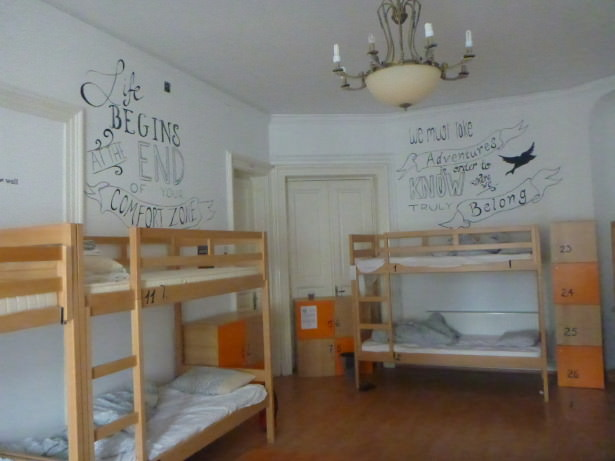 Oh and the quirky dorms!