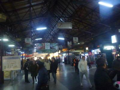 Leaving Bucharest station.