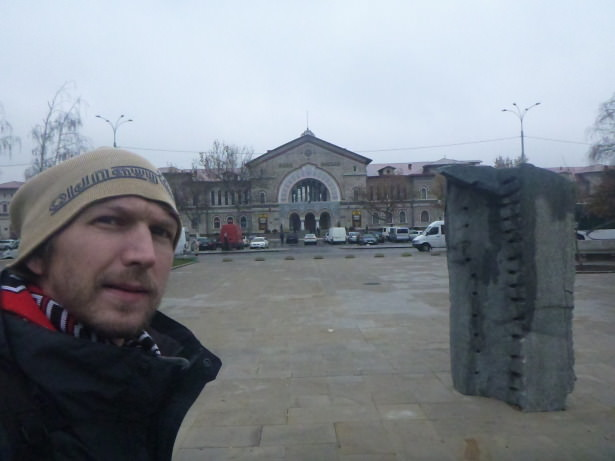 Backpacking in Chisinau, Moldova