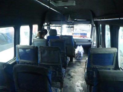 Bus to Orheiul Vechi.