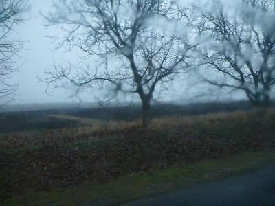 The drive to Orheiul Vechi.