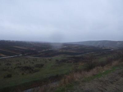 Moldovan wilderness at Orheiul Vechi.