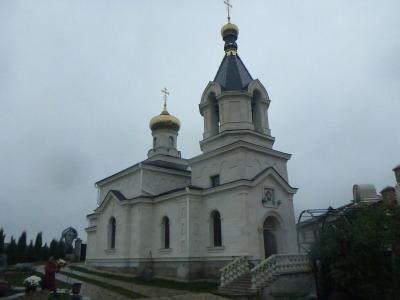Church in Orheiul Vechi.