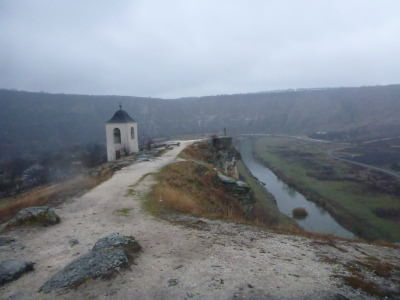 Backpacking in Moldova: Visiting Orheiul Vechi Monastery