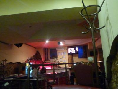 Cafe Nefertiti, Chisinau, Moldova.