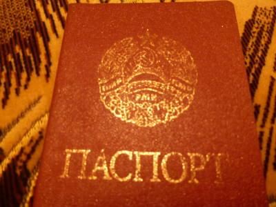 A Transnistrian Passport.