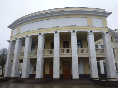 Theatre in Tiraspol.