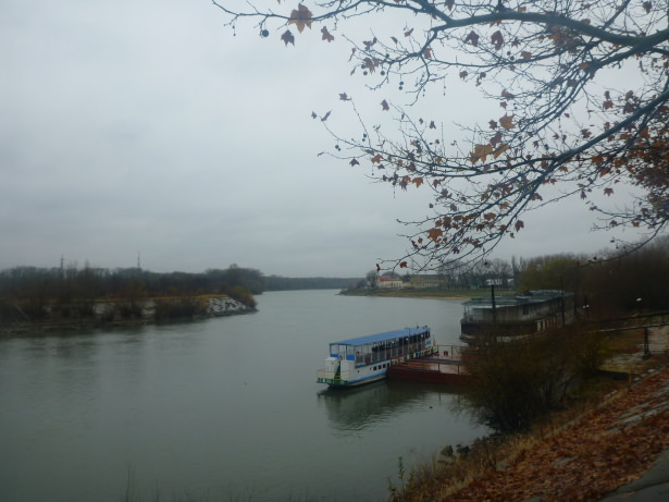 The Nistru River.