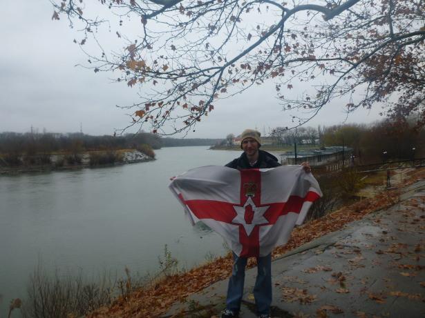 Northern Ireland flag, Tiraspol.