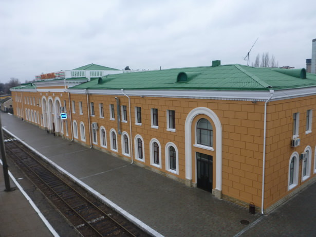 Tiraspol Train Station.
