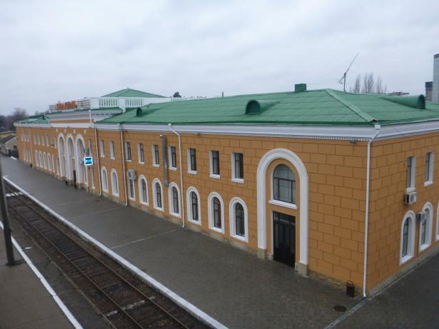 Tiraspol Train Station.