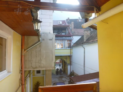 Courtyard at Casa Terezia.