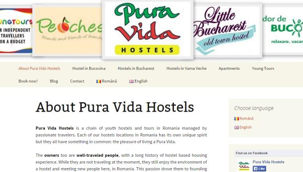 Pura Vida Hostels Group.