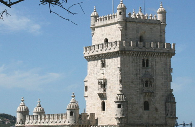 Belem Tower in Portugal.