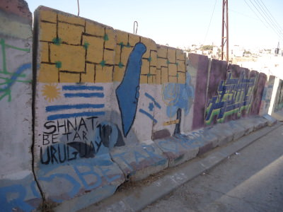 Murals in Hebron