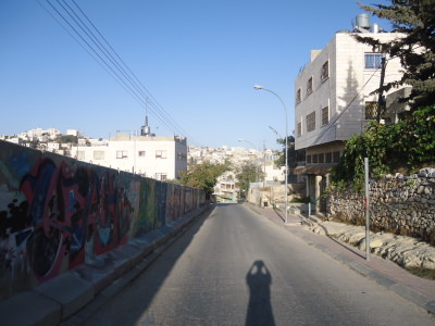 Deserted streets of Hebron