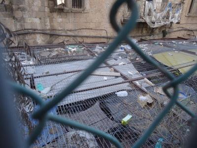 Rubble in Hebron