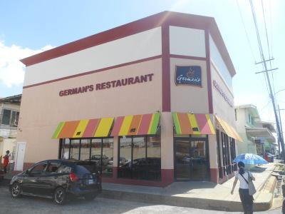 German's Restaurant on New Market Street, Georgetown
