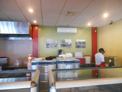 Inside Germans Restaurant, Georgetown, Guyana.