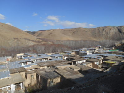 Backpacking in Iran: Touring the unknown village of Yaseh Chah.