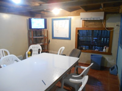 The Classroom at Utila Dive Centre.