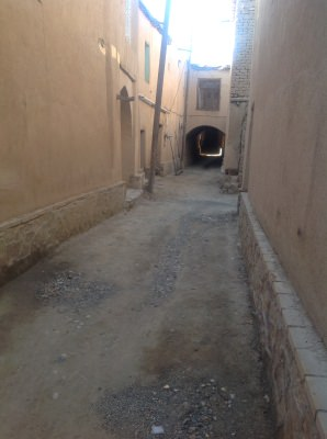The streets of Yaseh Chah.