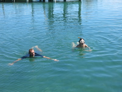 The swim and float - watermanship assessment.