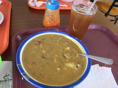 The Guyanese creamy chicken soup