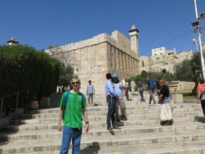Touring the Israeli side of puzzling Hebron.