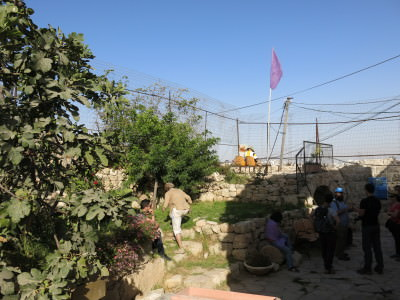The Israeli Guard Post in Hebron