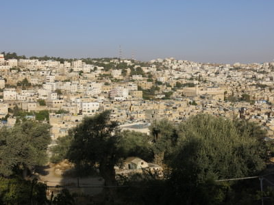 An Israeli guards view of Hebron