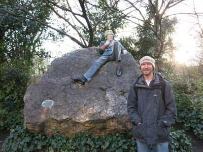 Oscar Wilde Statue, Dublin.