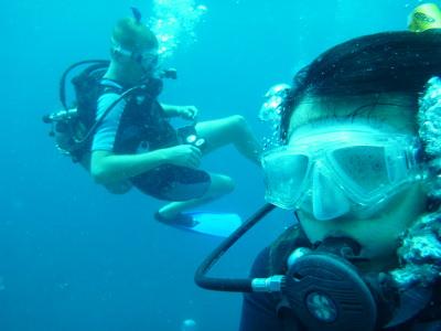 Underwater Selfie from Panny.