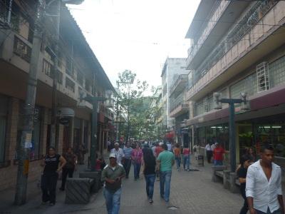 Calle Peatonal, Tegucigalpa.
