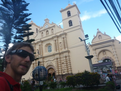 Selfie at the main Cathedral.