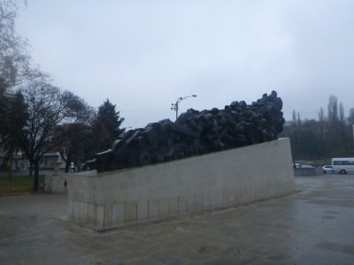 Monument to victims of Stalinist deportations.