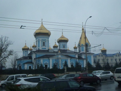 Moldovan Orthodox Church in Chisinau.