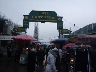 Chisinau's Piata Centrala - central market.