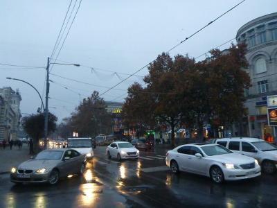 Stefan cel Mare boulevard.