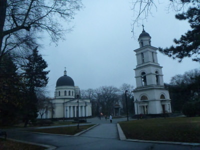 Touring Chisinau in Moldova