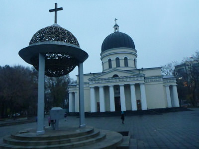 Chisinau's Cathedral of Christ's Nativity.
