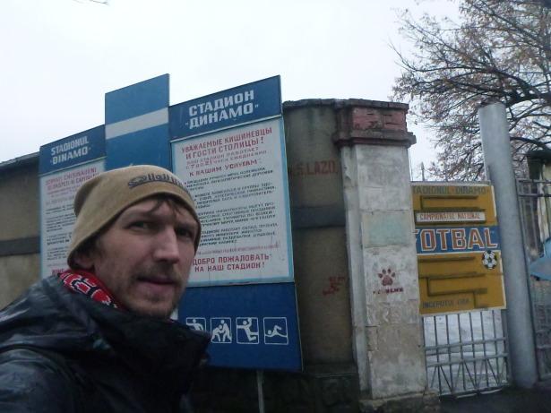 Dinamo Stadium in Chisinau.