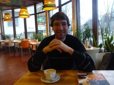 Ilya my friend and host in Tiraspol, Transnistria.