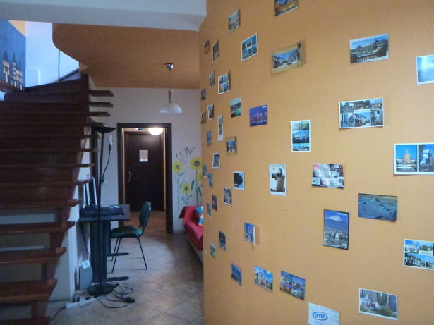 Staying at Peaches Hostel in Bucharest, Romania