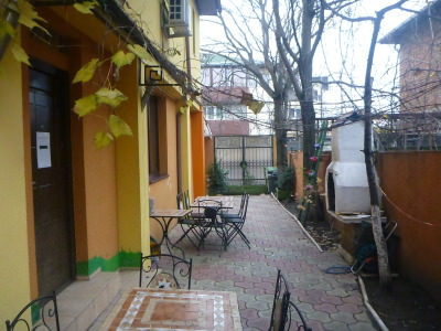 Staying in Peaches Hostel in Bucharest, Romania.
