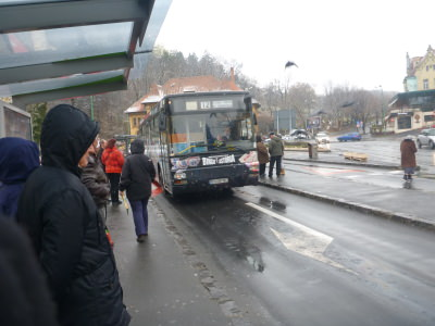 The bus to Gara 2 in Brasov.