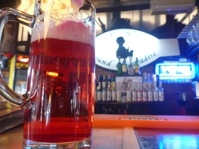 Bloodsucking in Bran - Dracula's blood beer.