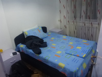 My private room in City Hostel Skopje.