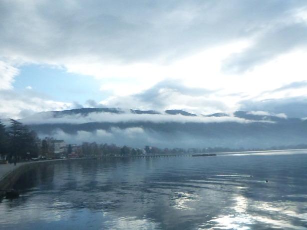 Lake Ohrid - 2 minutes walk from Mimi Apartments.
