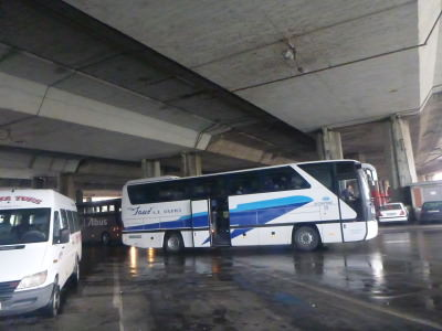 Skopje Bus Station, Macedonia.